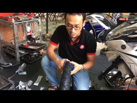 Thay Vỏ Michelin Cho Nouvo Tại Shop2banh | 2banh.vn