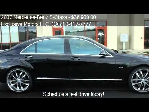 2007 Mercedes Benz S Class S600 4dr Sedan For Sale In