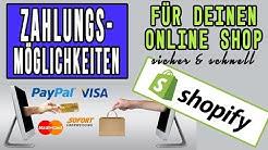 Shopify Zahlungsmethoden: Die einfachste Möglichkeit, um online Zahlungen zu empfangen