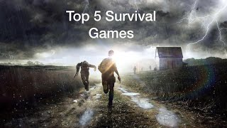 Top 5 Survival Games Xbox One