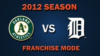 MLB 2K12: Oakland Athletics vs. Detroit Tigers