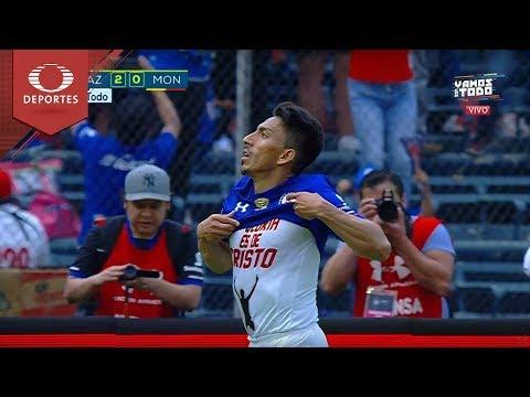Gol de Mena | Cruz Azul 2 - 0 Monarcas | Clausura 2018 - Jornada 16 | Televisa Deportes