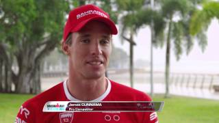 IRONMAN Cairns pre race chat with James Cunnama