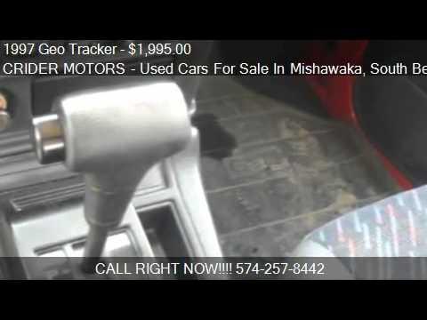 1997 geo tracker for sale in mishawaka in 46545 youtube for Crider motors mishawaka in