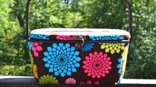 Diy: Sewing Basket Make Over - Part 1