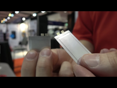 BrightVolt flexible batteries using solid state lithium polymer