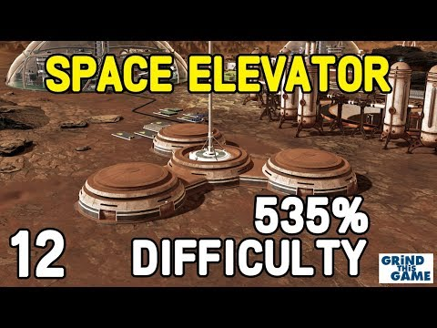 Surviving Mars - SPACE ELEVATOR WONDER #12 - (535%) DIFFICULTY Playthrough [4k]