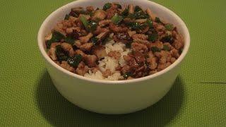 Pork Stir-fry With Mushrooms Recipe