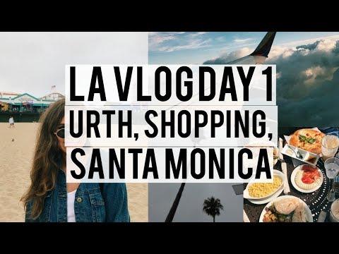 LA VLOG DAY 1   Brunch, Brandy Melville, Shopping, & More!