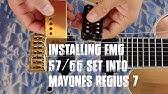 Basic Guitar Electronics XVI - Wiring of an Ibanez RG7321 ... on
