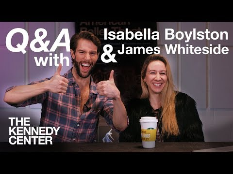 Q&A with American Ballet Theatre's Isabella Boylston and James Whiteside