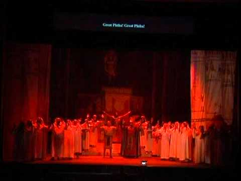 New Jersey Association of Verismo Opera, Grand scene of the consecration