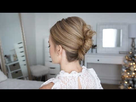 Aveda How-To | New Year's Eve Twisted Updo Hairstyle Tutorial with Missy Sue thumbnail