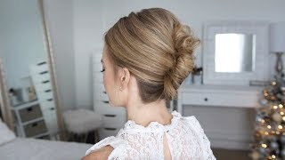 Aveda How-To | New Year's Eve Twisted Updo Hairstyle Tutorial with Missy Sue