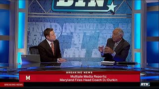 DJ Durkin Fired As Coach of Maryland Football | Big Ten Football