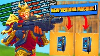 VENDING MACHINES OUT NOW!!! (Fortnite: Battle Royale)