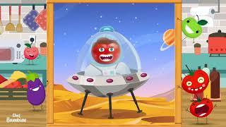Recette de sucettes croustillantes tomates cerises - Chef Bambino cuisine facile pour enfant