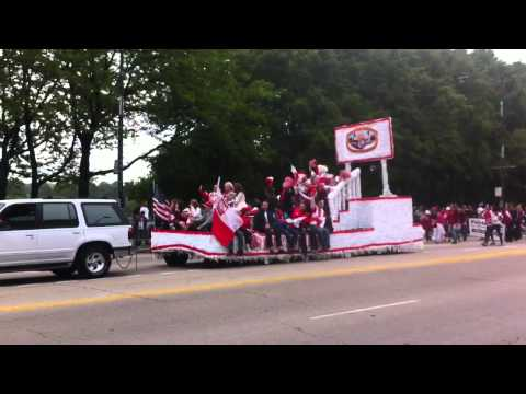 Chicago May 3rd Polish Constitution Day Parade 2012 on Columbus Drive @ Grant Park
