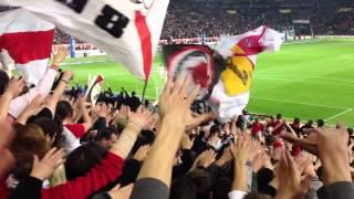 VfB Stuttgart: Europapokal und Olé ola nach dem Sieg gegen Bremen