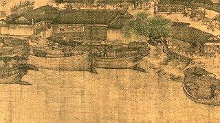 La historia cobra vida con animación de China clásica pintura de desplazamiento