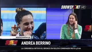 ANDREA BERRINO EN SHOWSPORT NOTICIAS 16 08