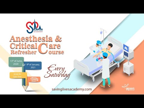 Anaestheasia and CC refresher course week 13