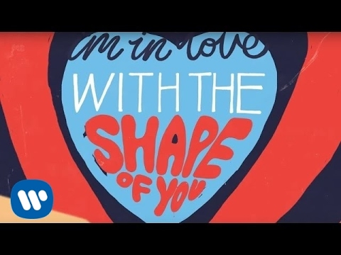Ed Sheeran - Shape Of You [Official Lyric Video]