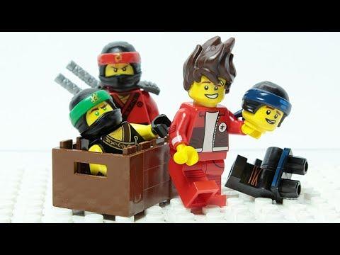 Lego Ninjago Brick Matching Wrong Costumes Figures Animation For Kids