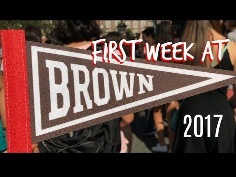 FIRST WEEK AT COLLEGE [Brown University] | Dead Fish, Cheerleading, Beach Trip!