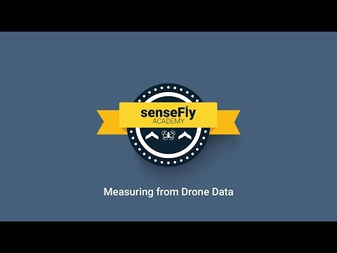 senseFly Academy — Measuring from drone data