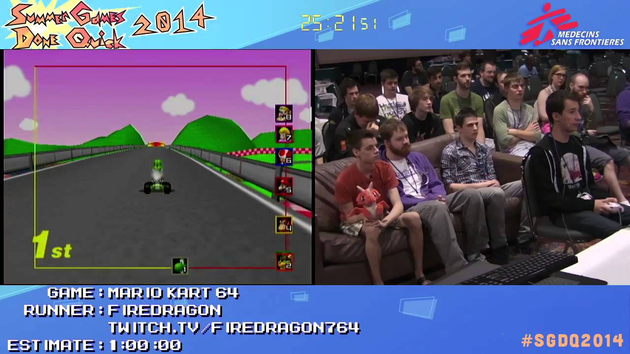 Mario Kart 64 By Firedragon764 In 40 56 Sgdq2014 Part