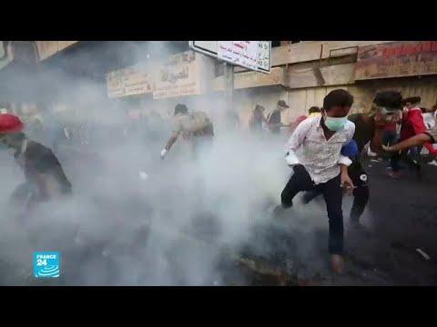 العراق: مقتل أربعة متظاهرين في بغداد وسط تزايد الضغوط على الحكومة العراقية  - 15:00-2019 / 11 / 14