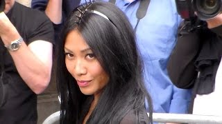 ANGGUN @ Paris 8 july 2015 Fashion Week show Jean Paul Gaultier - juillet