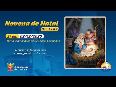 NOVENA DE NATAL ON-LINE - SEGUNDO DIA