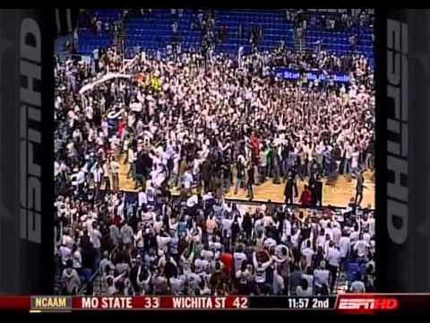 Talor Battle Gamewinner vs. #23 Illinois 3/5/2009
