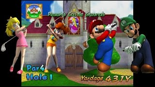 Mario Golf: Toadstool Tour - Peach