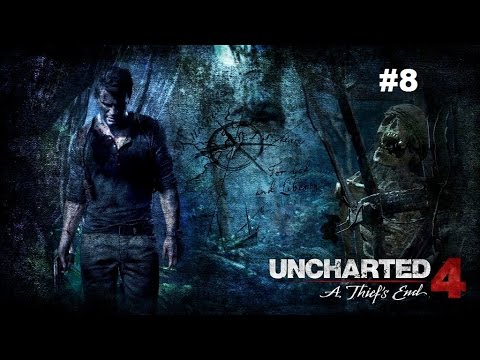 Uncharted 4 O Fim de um ladrão #8 Português - Gameplay Walkthrough Playthrough