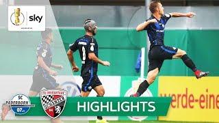SC Paderborn 07 - FC Ingolstadt 2:1   Highlights - DFB-Pokal 2018/19 - 1. Runde