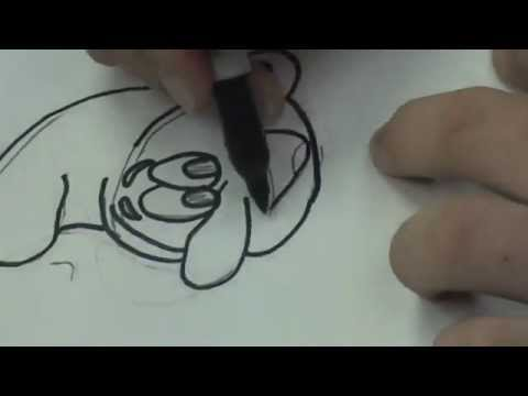 how to draw a smurf face