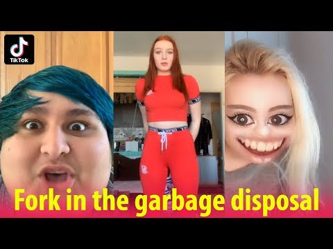 🍴 Lets do the Fork in the garbage disposal Challenge - Tik Tok Compilation 2019