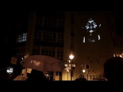 Kanye West attaque Paris: le lancement de son clip
