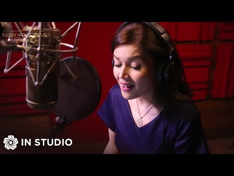 Donna Cruz  NagIisang Ikaw Recording Session