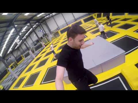 Team Building On Trampolines! - Go Air Manchester - The city