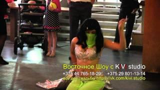 Восточное шоу в Пинске, танец живота, артисты на свадьбу