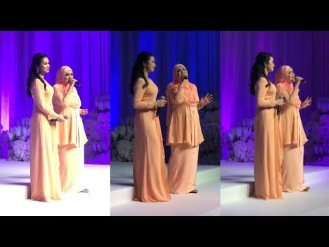 Rileks jer Datuk Siti Nurhaliza tarik suara walaupun tengah pregnant, Majlis Pernikahan Izara Aishah