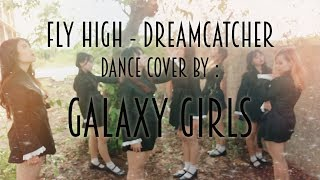 [170910] Galaxy Girls covers Good Night + Fly High by Dreamcatcher at 32th Anniversary GP Tegal