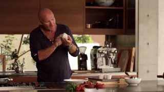 Matt Moran Cooking With Scanpan - Vanilla Pannacotta With Cherries