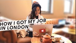How I Got My Job, Experience In Content Marketing/Social Media & My Tips When Job Hunting