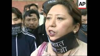 Tibetans march to mark Human Rights Day