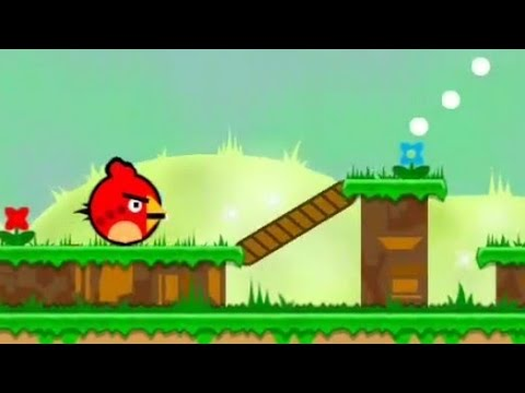 IS THIS GEOMETRY DASH AGAIN? :0 | Angry Birds - cronibet (Angry Bird Dash) / XL Art Level